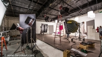 Using Briese lights for beauty shoot in Los Angeles!