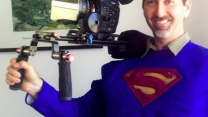 DP showing Dean Cain who's Superman!